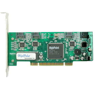 HighPoint RocketRAID 1640 with 4 SATA Ports