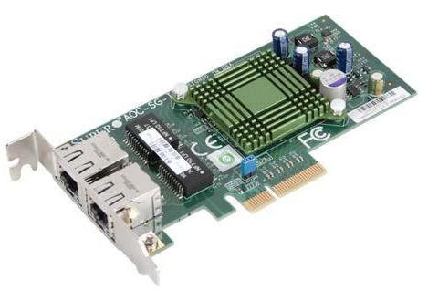 Supermicro AOC-SG-i2 PCI-Express High-performance