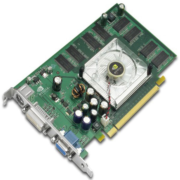 NVIDIA Quadro FX 540 128MB 128-bit DDR PCI Express x16 Workstation Video Card