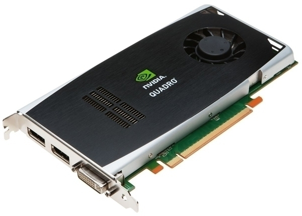 NVIDIA Quadro FX 1800 768MB 192-bit GDDR3 PCI Express 2.0 x16 Workstation Video Card
