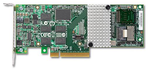 3Ware SAS 9750-4i PCI-Express 2.0 6Gbps LP RAID Controller Card