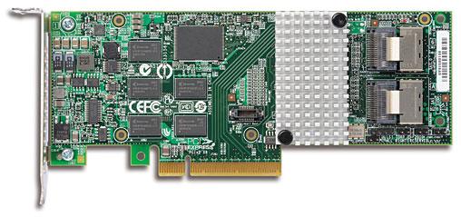 3Ware SAS 9750-8i PCI-Express 2.0 6Gbps LP RAID Controller Card