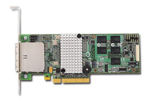 3Ware SAS 9750-8e PCI-Express 2.0 6Gbps LP RAID Controller Card