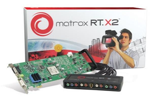 Matrox RT.X2 PCIe HD Capture and Editing Card