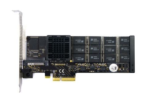 Fusion-io 320GB ioDrive, Multi Level Cell (MLC)
