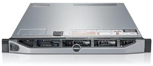 DELL™ 1U CHASSIS R620 Redundant 750W