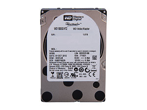 250GB Western Digital VelociRaptor 10000 RPM  64MB Cache SATA 6.0Gb/s 2.5