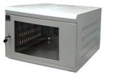 Tủ rack treo tường SSN 6U-D400 (cửa mica)