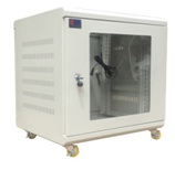 Tủ rack SSN 10U-D500 (cửa mica)