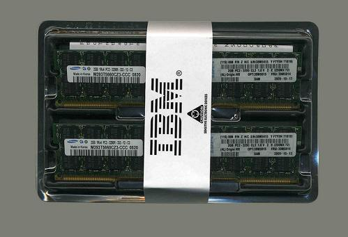 8GB (2x4GB) PC2-5300 CL5 ECC DDR2 667 LP RDIMM