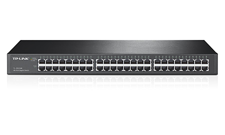 TP LINK 48-Port Gigabit Rackmount Switch