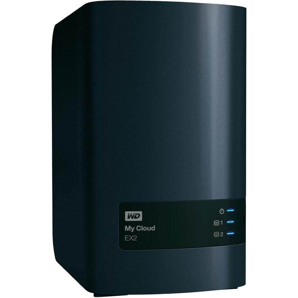 WD MY CLOUD EX2 8TB CHARCOAL MULTI-CITY ASIA
