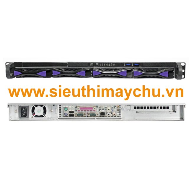 Chassis SN104H-460W - 1x460W Power Supply