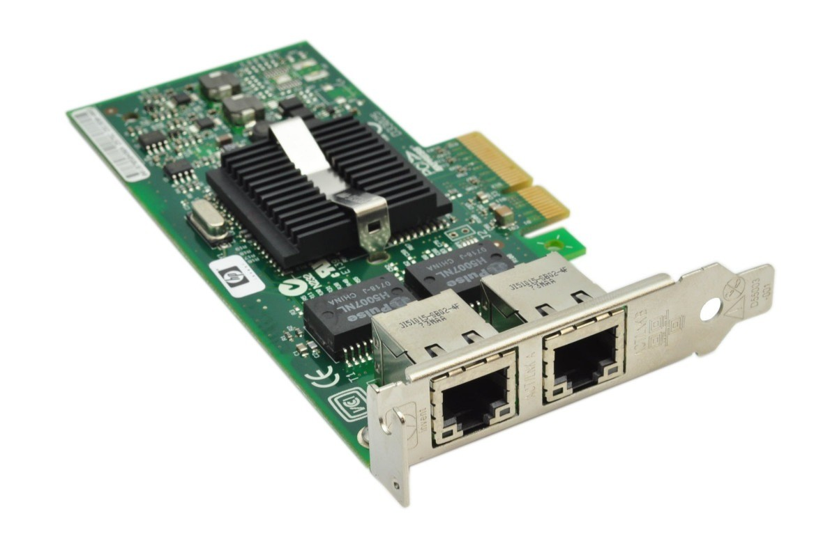 HP NC382T PCI Express Dual Port Gigabit Server Adapter