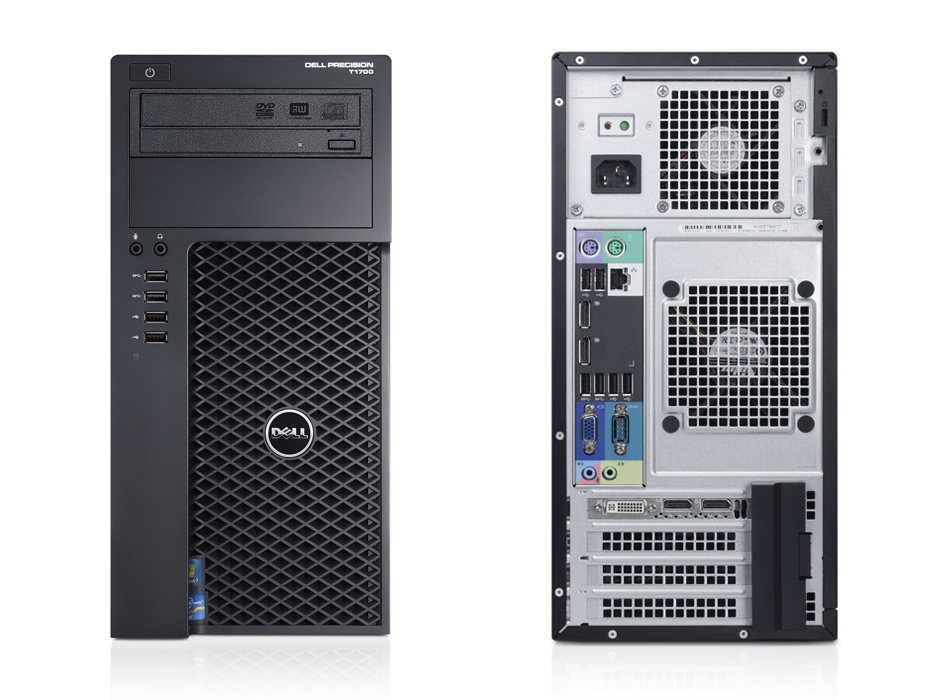 Workstation Dell Precision T1700MT (E3-1225v3/2x4GB/1TB HDD / K2000 VGA)