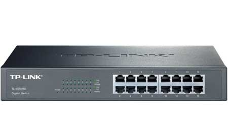 Thiết Bị Mạng Switch TP-LINK 24 Port Gigabit Easy Smart TL-SG1024D 10/100/1000Mbps