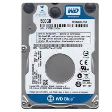Ổ Cứng HDD Western Digital Blue 500GB 2.5inch SATA 5400RPM 6Gb/s 16MB Cache