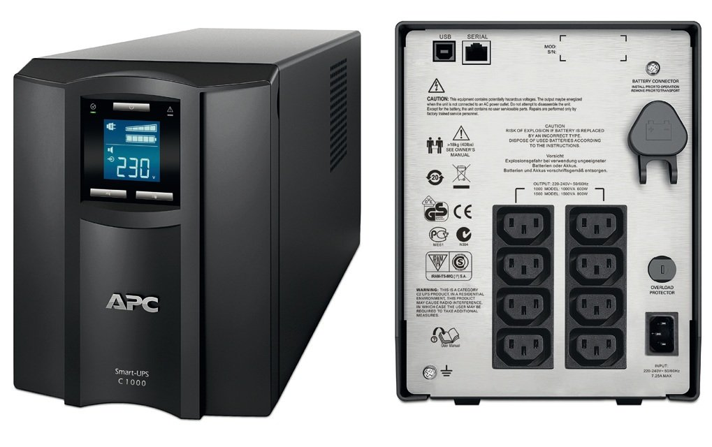APC Smart-UPS 1500VA USB & Serial 230V - EOL ( End of Life )