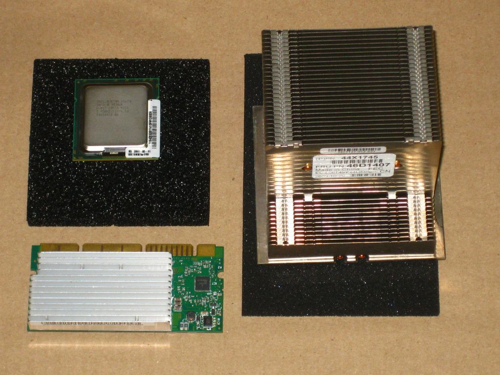 IBM x3500 M2 Intel Quad-Core Xeon E5530 (2.40Ghz, 80W, 1066Mhz)