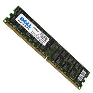 DELL KIT 8GB (2x4GB) 400MHZ PC2-3200 240-PIN DUAL RANK X4 ECC REGISTERED DDR2 SDRAM