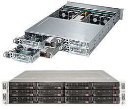 Máy chủ lắp ráp SuperServer 6028TP-HC1R  ( 4 NODE )