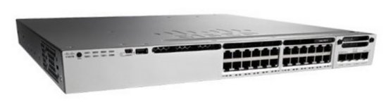Cisco Catalyst 3850-24S-E - switch - 24 ports - managed - desktop, rack-mountable