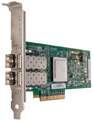 Qlogic Dual Port 8Gb Fibre Channel to  PCI Express Host Bus Adapter