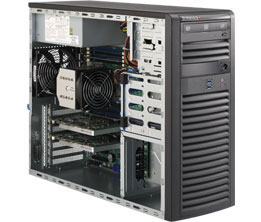 SUPERWORKSTATION SYS-5038A-I BLACK