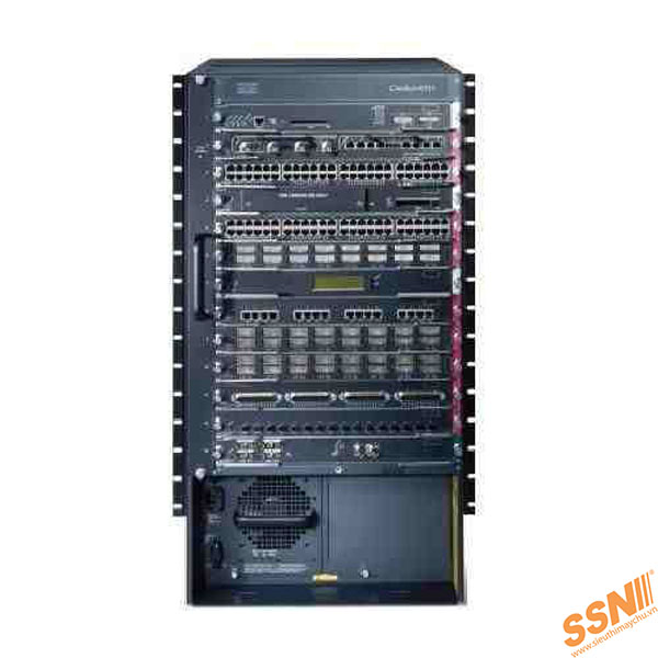 Cat6513 chassis, WS-SUP32-10GE-3B, Fan Tray (req. P/S)