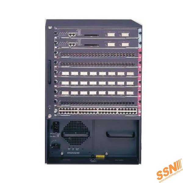 Cisco Catalyst switch 6509E, WS-SUP32-GE-3B, Fan Tray (req. P/S)
