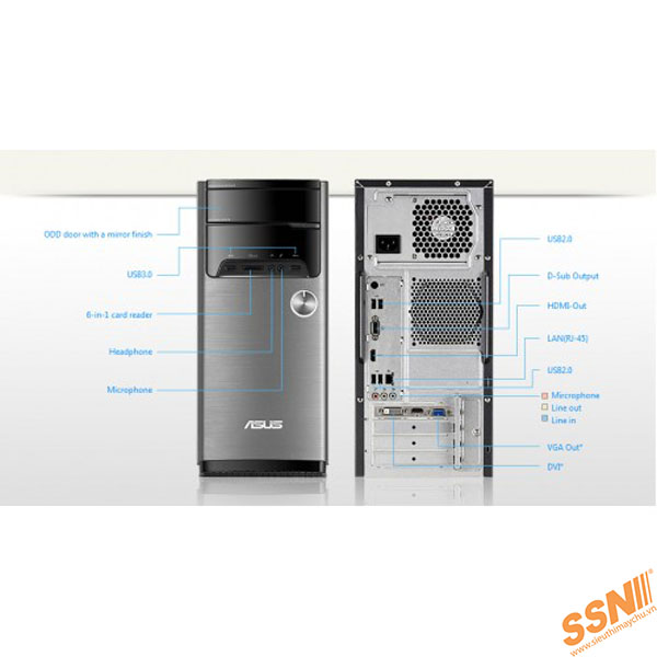 PC Asus M32CD-VN016D (I5-6400)