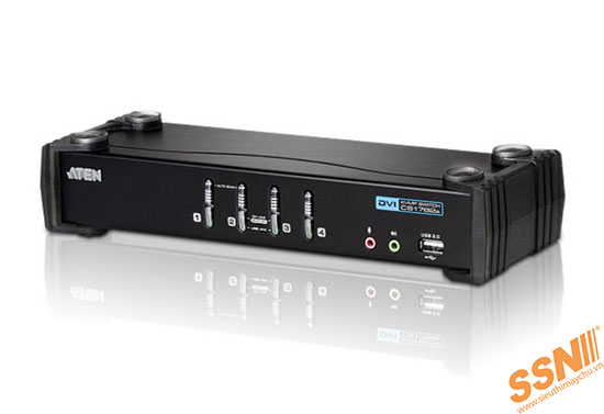 Aten CS1764A USB 2.0 DVI KVMP™ Switch Audio enabled
