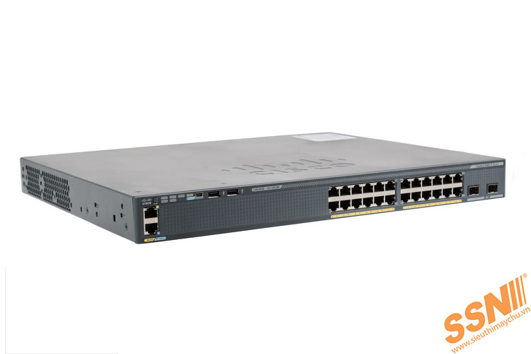 Switch Cisco WS-C2960X-24TD-L