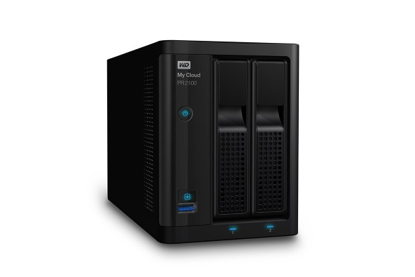WD My Cloud PR2100 Pro Series Media Server NAS - Diskless