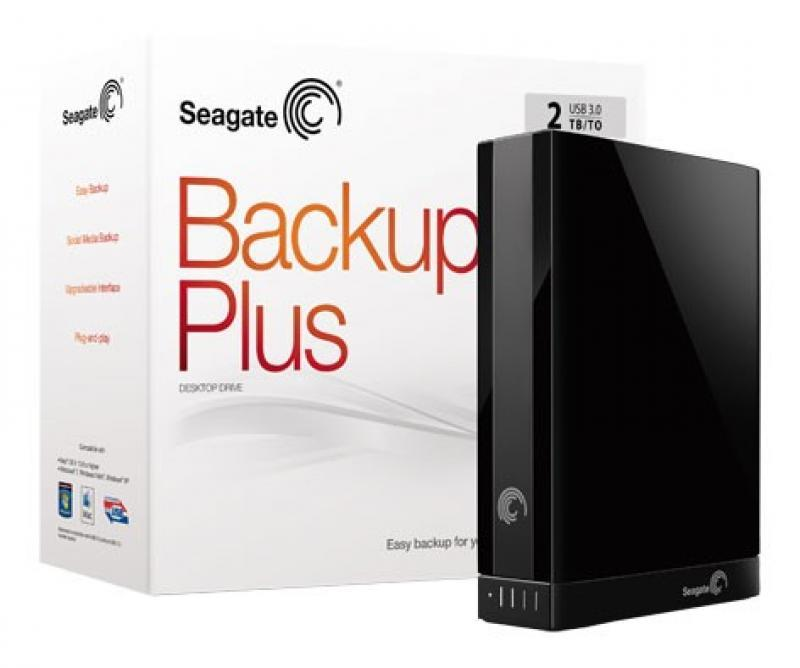 Seagate® Backup Plus Desktop Drive 2TB