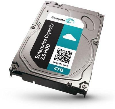 4TB Seagate Enterprise 7200 RPM SAS 12Gb/s 128MB Cache