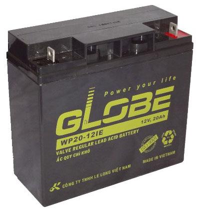 Ắc quy Globe 12V20AH dùng cho bộ lưu điện APCSUA2200I