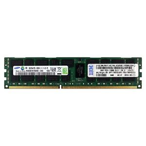 IBM 90Y3111  8GB 2Rx4 DDR3 PC3-12800R 1600MHz ECC REGISTERED MEMORY RAM
