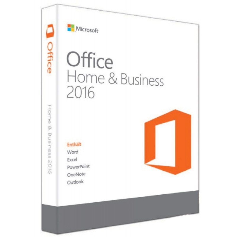 Office Home and Business 2016 32-bit/x64 English Asia Other DVD