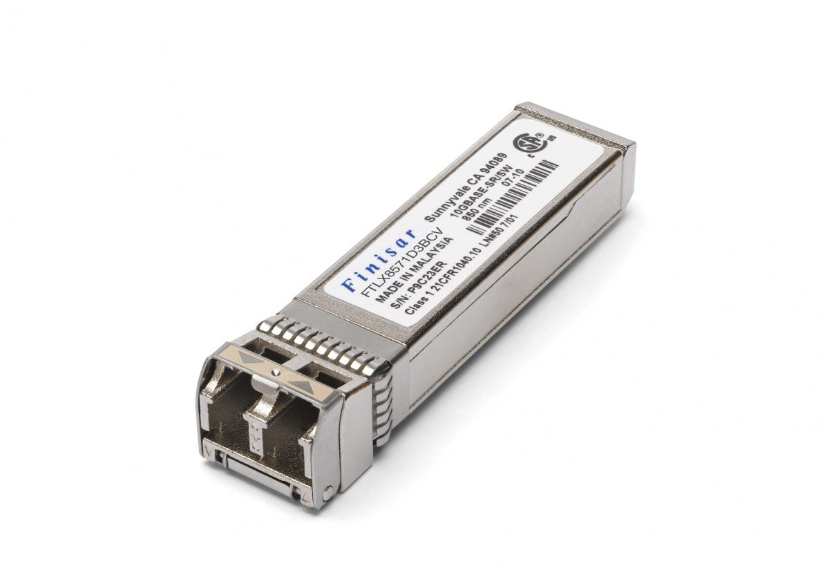 Intel FTLX8571D3BCV 1GB/10GB Dual Rate SFP+ Transceiver