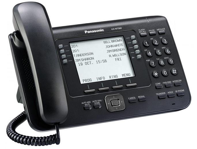 Điện thoại IP Panasonic KX-NT560