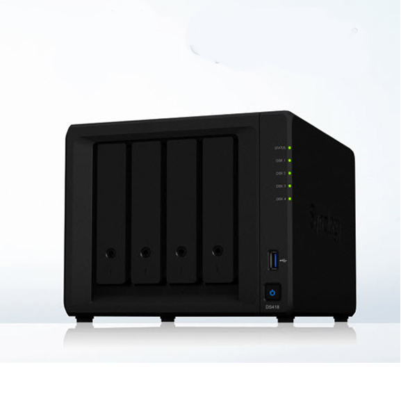 Synology NAS DiskStation DS418 4-bay