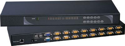 CV-S801 Cyberview Austin Hughes 8 Port combo USB KVM Switch