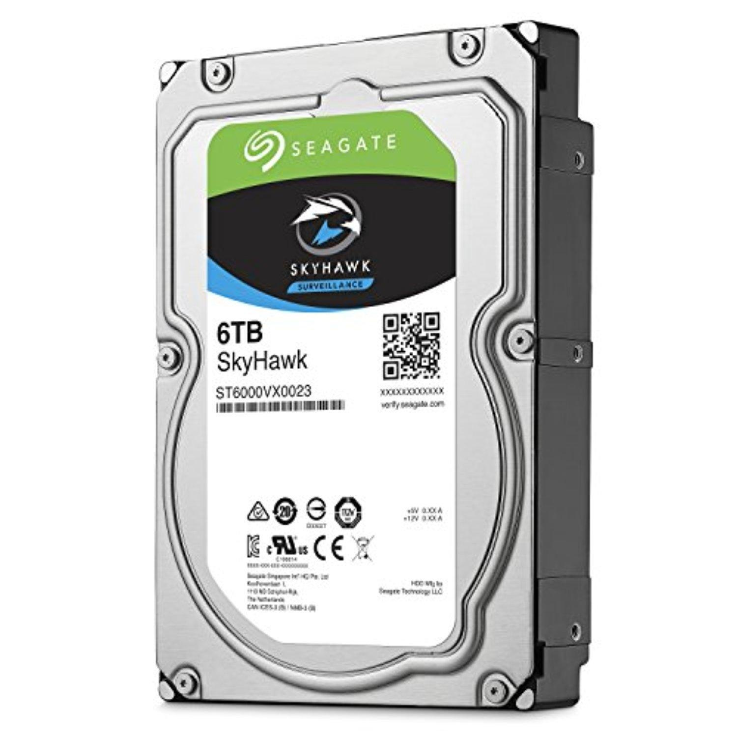 Ổ Cứng HDD Seagate 6TB SkyHawk Surveillance 7200PRM Sata3 256MB Cache - End Of Life ( EOL)