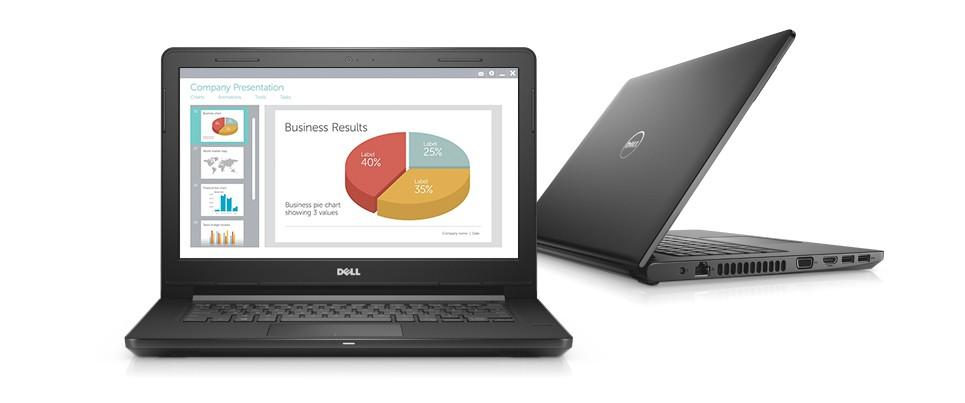 Dell Inspiron 3467 (C4I51107)/ i5 7200U/ 4GB DDR4/1TB/ DVDRW/ 14