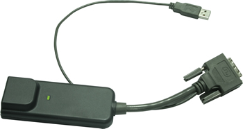 DVI USB Dongle for Cat6 KVM DG-100SD