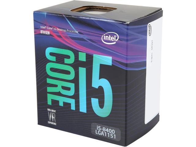 Bộ xử lý Intel® Core™ i5-8400 9M bộ nhớ đệm, lên đến 4.00 GHz