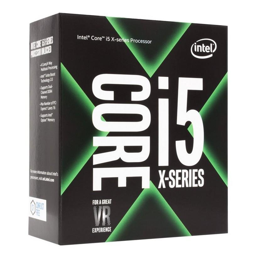 Bộ xử lý chuỗi Intel® Core™ i5-7640X X 6M bộ nhớ đệm, tối đa 4.20 GHz