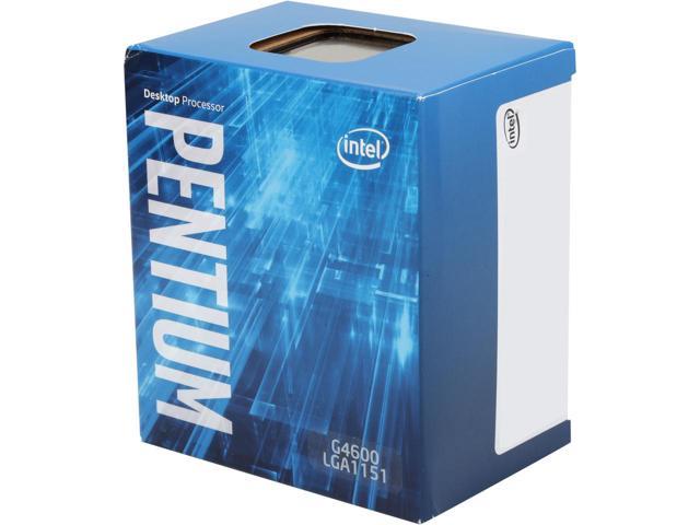 Bộ xử lý Intel® Pentium® G4600 3M bộ nhớ đệm, 3,60 GHz