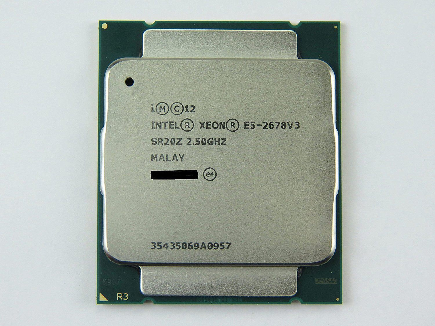 Intel Xeon Processor E5-2678V3 2.50GHz 30M 12Cores